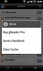 gReader (Google Reader)