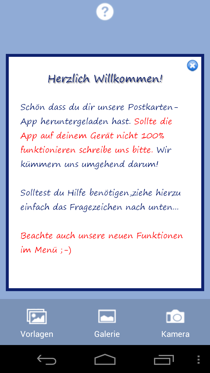 Urlaubsgruss - Postkarten in der neuen Version! - Android Apps im ...