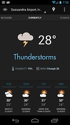 Eye In Sky Weather -- A very chic weather app