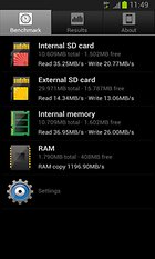 A1 SD Bench – Benchmark per RAM, memoria interna e SD Card