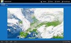 WeatherPro HD. Nunca más desprevenido sin paraguas!!