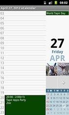 aCalendar - Android Calendar - Yeni bir Android Takvim Uygulaması Daha