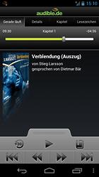 Audible for Android – A la gloire des audio books