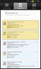 A1 SD Bench – Benchmark per RAM, memoria interna e SD Card