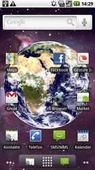 Earth Live Wallpaper - tolle Live Wallpaper ohne viel Ressourcen