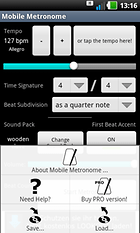 Mobile Metronome -- Rhythm Is It!