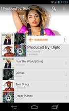 Google Play Music - Tout beau, tout nouveau