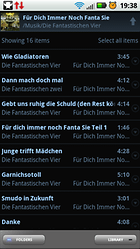 PowerAMP Music Player (PowerAMP Full Version Unlocker) – El repodructor de música para Android