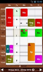 TimeTable++ Schedule - Génial un vrai agenda !