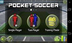 Pocket Soccer --  A good old fashioned time killer