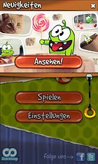 Cut the Rope. Cortando por lo sano.