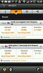 Orario voli, Arrivo e partenza - I dati del tuo volo su smartphone!