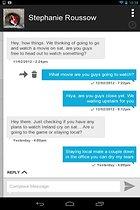 Dinamotxt, SMS a tutti dal tablet