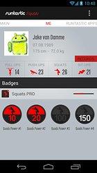 Runtastic Squats PRO, la app per l'allenamento a casa