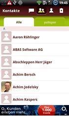 yuilop Gratis SMS & Messenger - Instant Messaging und kostenlos SMS in alle Netze verschicken
