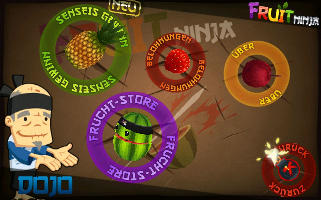 new game fruit ninja