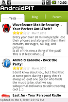 AndroidPIT - L'appli, la vraie, celle que vous attendiez !