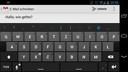Thumb Keyboard (Phone/Tablet) - probablement le meilleur clavier pour les tablettes ?