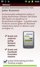 yuilop Gratis SMS & Messenger - Mensajes de texto gratuitos