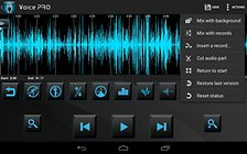 Voice PRO - Un completo editor audio per Android