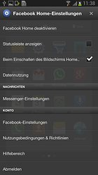 Facebook Home - Der Launcher für Facebook-Fans