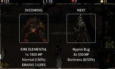 Element Defense - mit Naturgewalten Monster platt machen