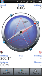 Tracky navigation GPS+boussole - Chacun sa route