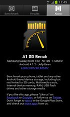 A1 SD Bench - The BenchMark Test for Memory