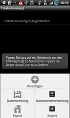 """Secrets for Android"" - jeder hat Geheimnisse"