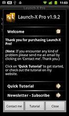 Launch-X Pro - Leistungsstarke Widgets selbst gestalten