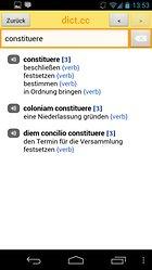 dict.cc+ dictionary - Un dictionnaire hors-ligne