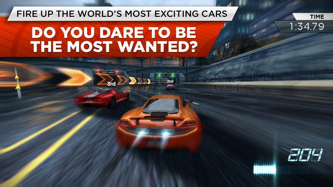 Need For Speed Most Wanted Android App Reviews Androidpit
