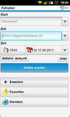 ZVV Fahrplan – Schweizer Bahn immer dabei!