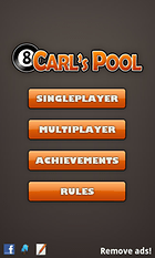 Carl's Pool. A tres bandas.