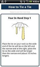 How to Tie a Tie, annodare la cravatta con lo smartphone