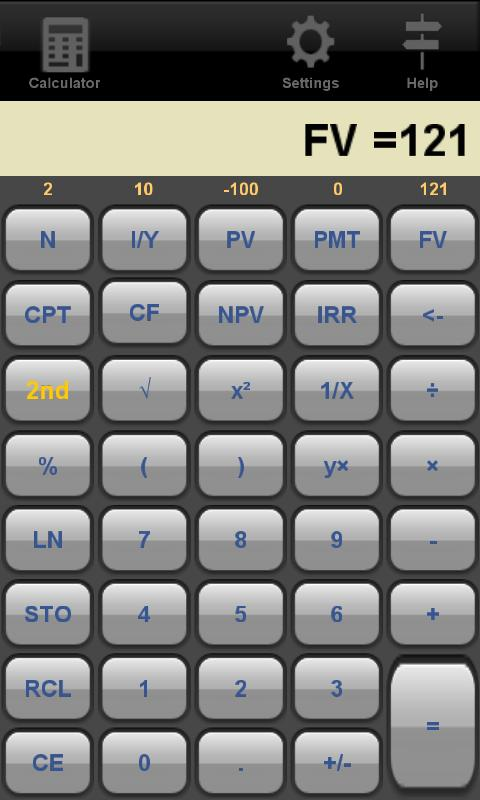 Financial Calculator - Android App Reviews - AndroidPIT