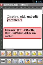 Office 2012: TextMaker Mobile - Android üzerinden yazı yazma
