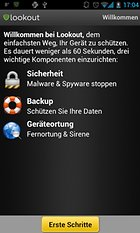 Lookout Security & Antivirus - Sicher ist sicher