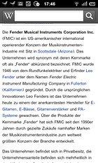 Wikipedia Mobil - Pool des Wissens