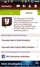 yuilop! Free SMS & Messenger - Mensajes instantáneos y SMS gratis a todos los proveedores