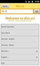 dict.cc+ dictionary – Il dizionario sullo smartphone