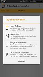 NFC Aufgaben-Launcher - NFC für den Alltag tauglich machen