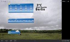 WeatherPro HD - Beste Wettervorhersagen nun auch für Tablets