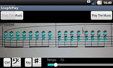 SnapNPlay – Dein Android wird zum Pianisten!
