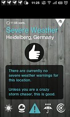 1Weather -- A great weather app
