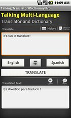 Talking Translator /Dictionary - Pour tout comprendre, quelle que soit la langue