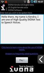 IVONA Text-to-Speech HQ - Yazıyı Sese Dönüştüren Uygulama