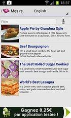 My CookBook (Mes Recettes) – Mutfak asistanı