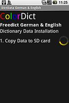 ColorDict Wörterbuch