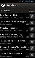 Audials - RadioRec+Musik Sync - das Smartphone kostenlos mit Musik füllen!